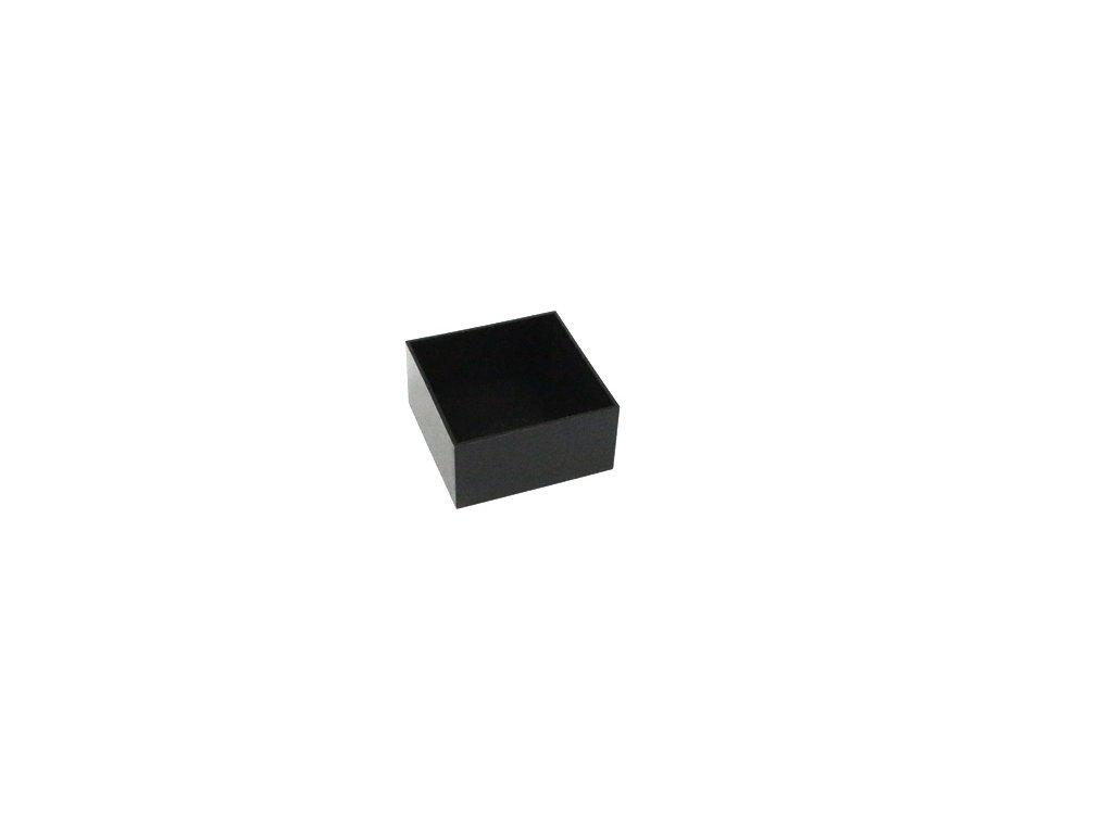 Plastová krabička HM1596B107, černá