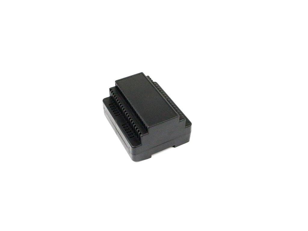 Plastová krabička KM71, černá