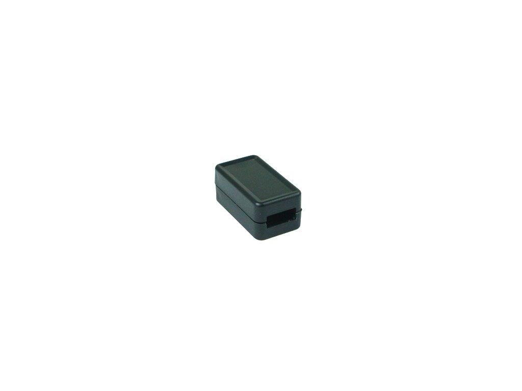 Plastová krabička USB1, černá