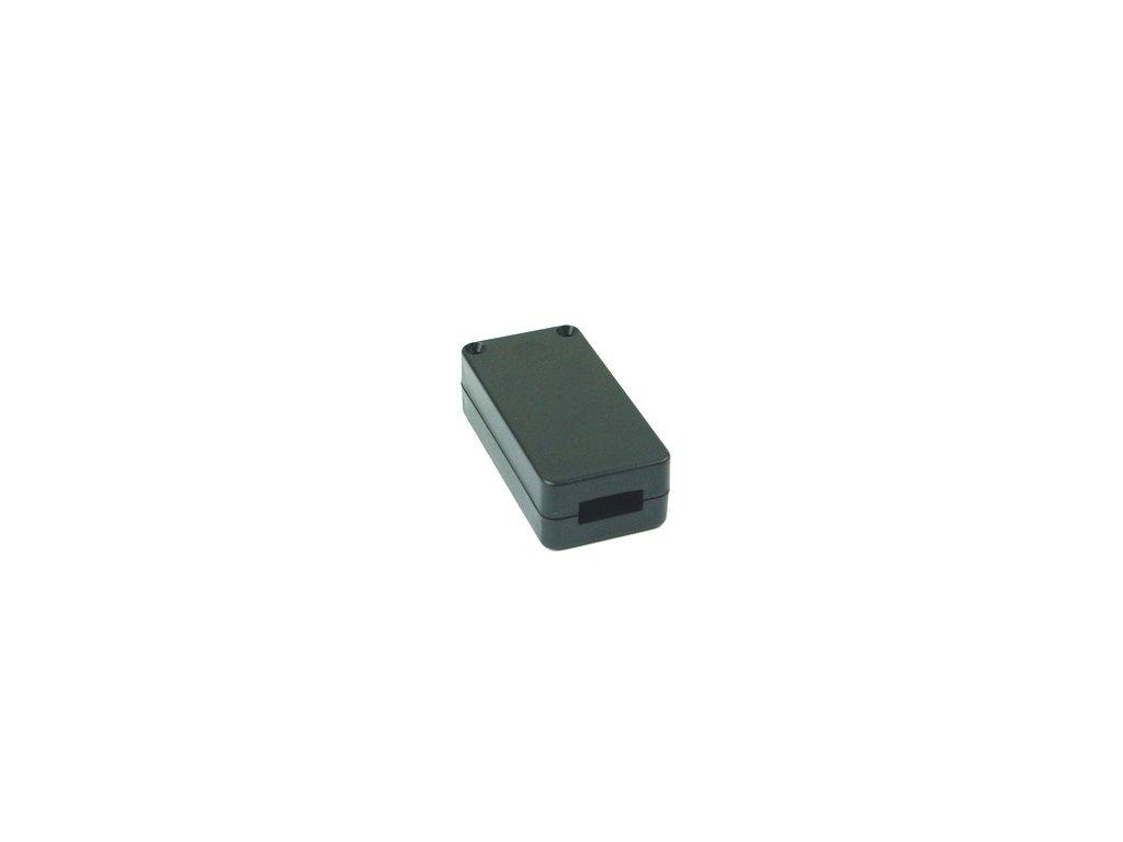 Plastová krabička USB2, černá