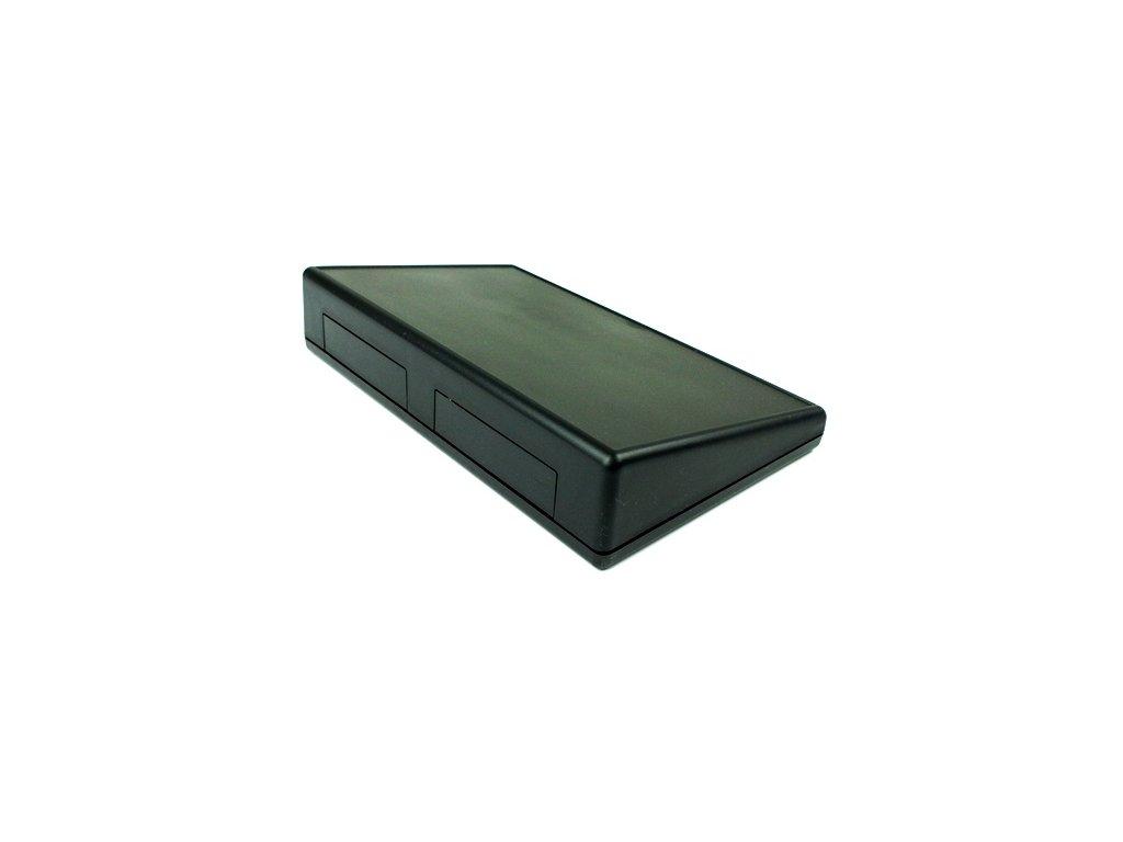 Plastová krabička HM1599KTSBK, černá