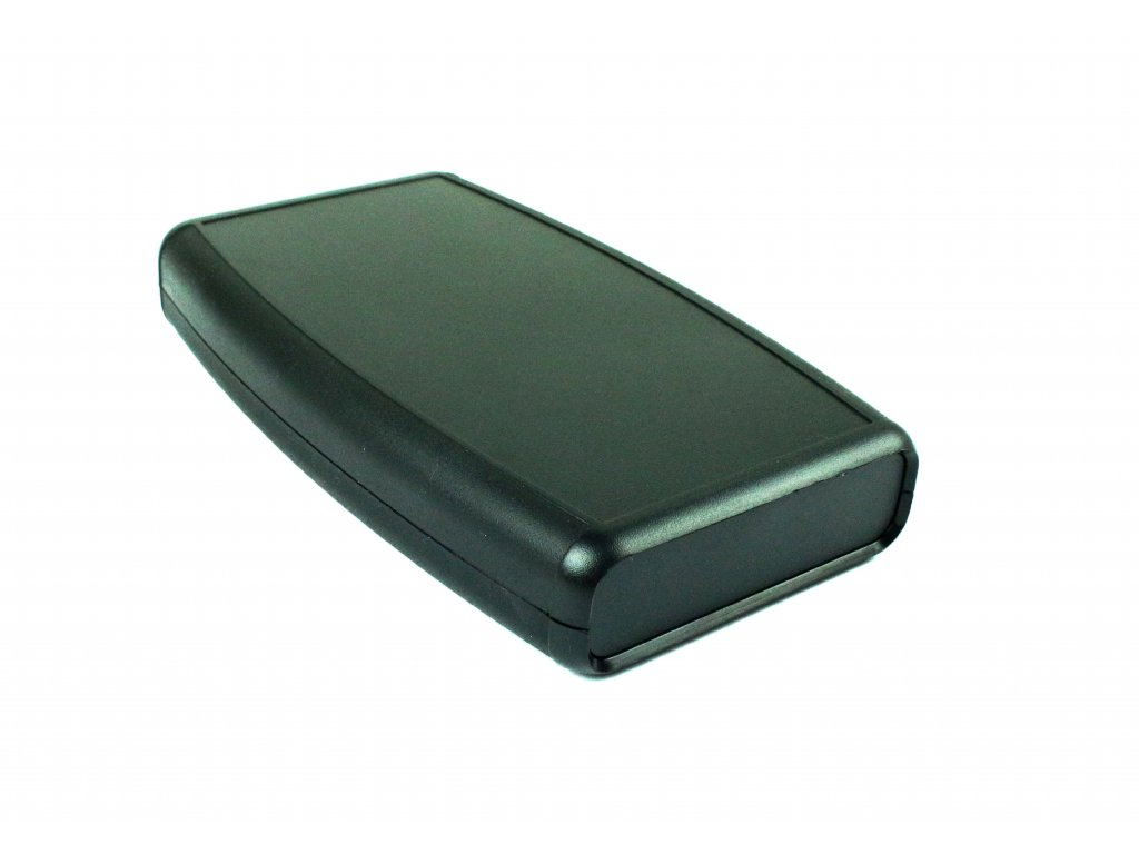 Plastová krabička HM1553DBKBKBAT, černá