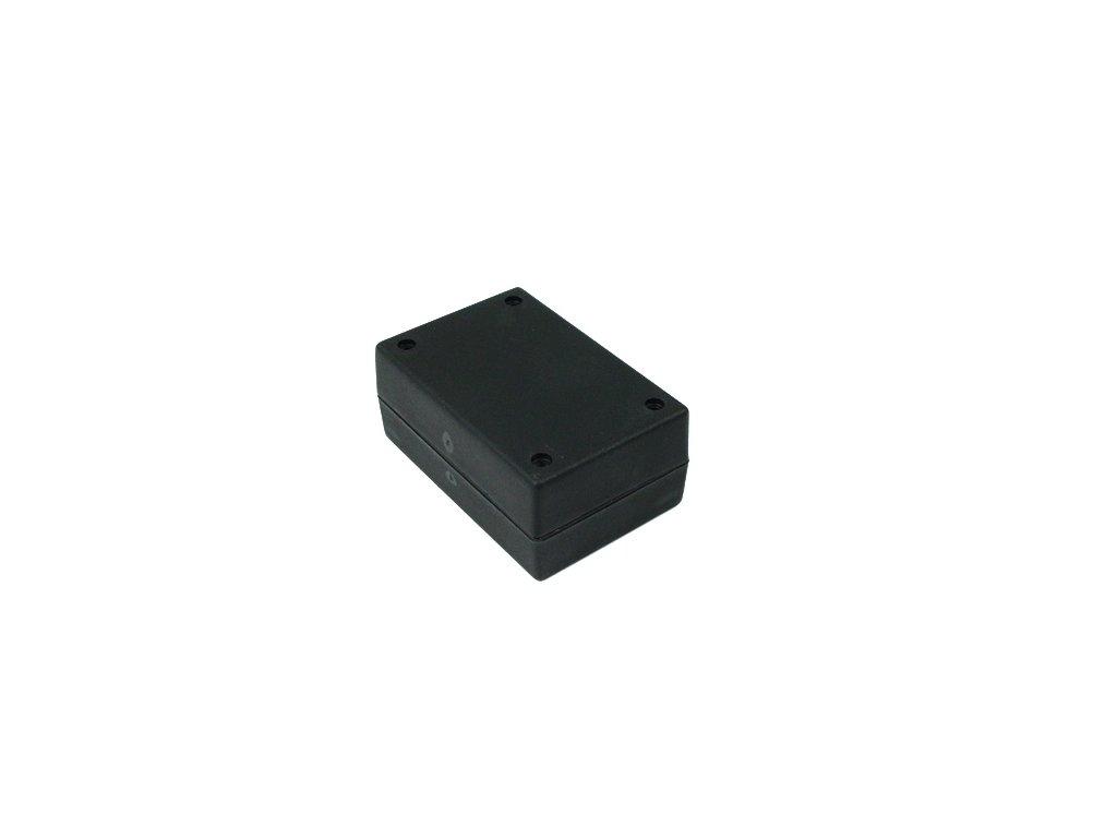 Plastová krabička BK5035, černá