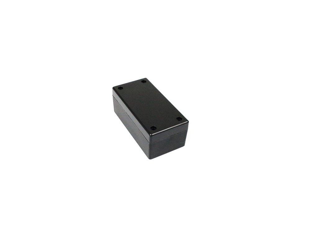 Plastová krabička BK6540, černá