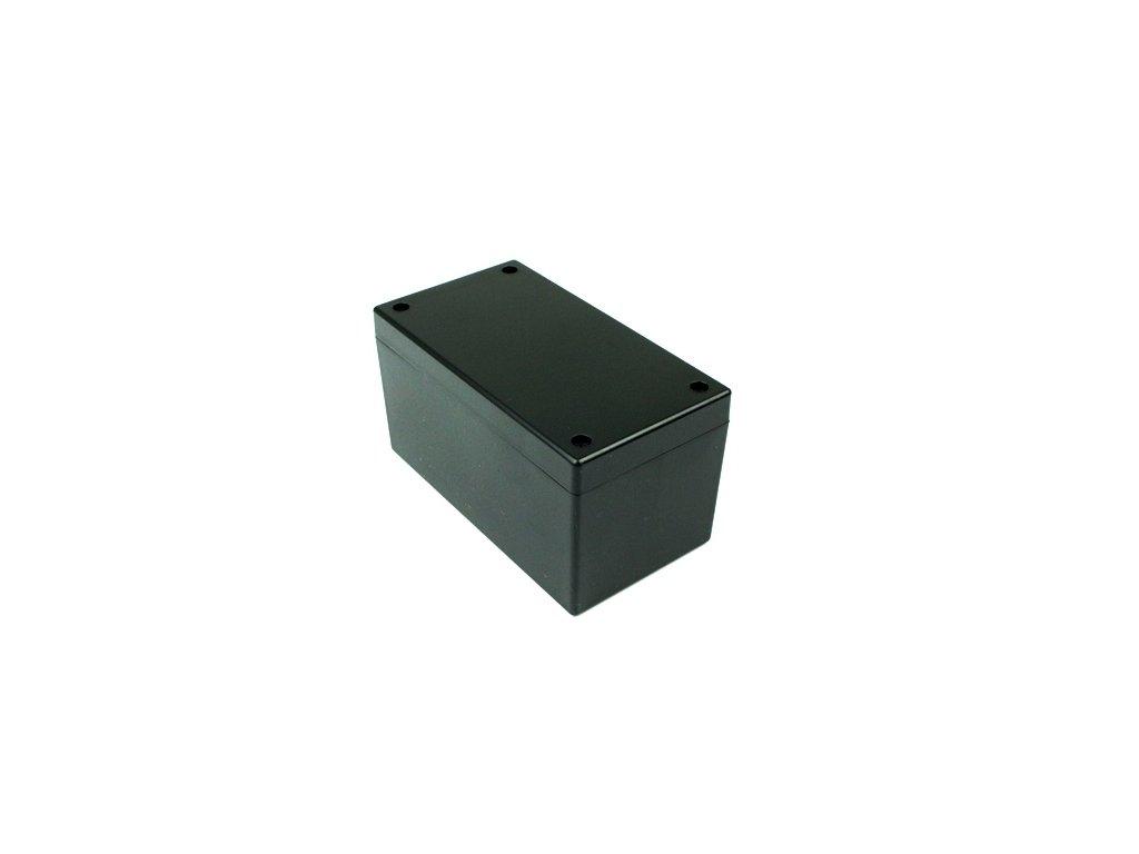 Plastová krabička BK6565, černá