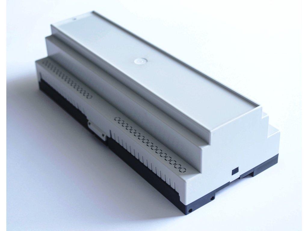 Plastová krabička BKDIN2100 KO/P