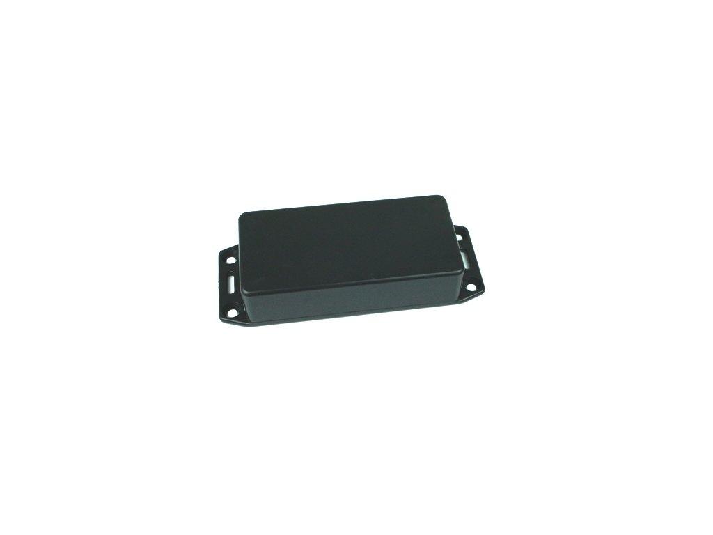 Plastová krabička HM1591XXASFLBK, černá