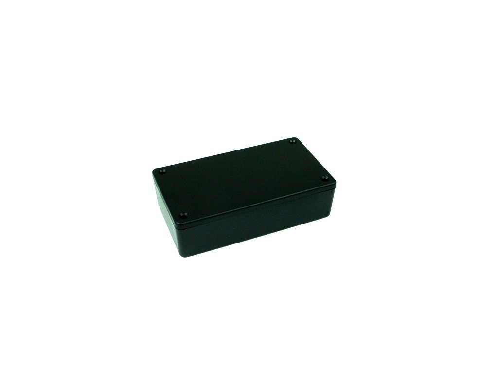 Plastová krabička HM1591XXBSBK, černá