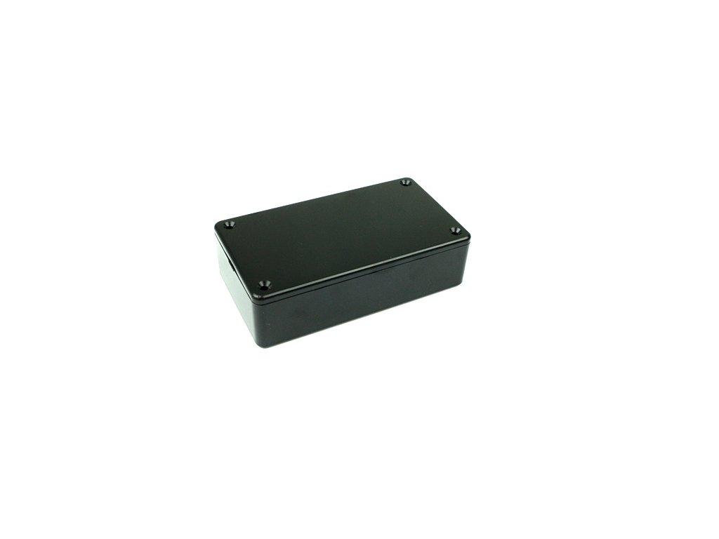Plastová krabička HM1591BSBK, černá