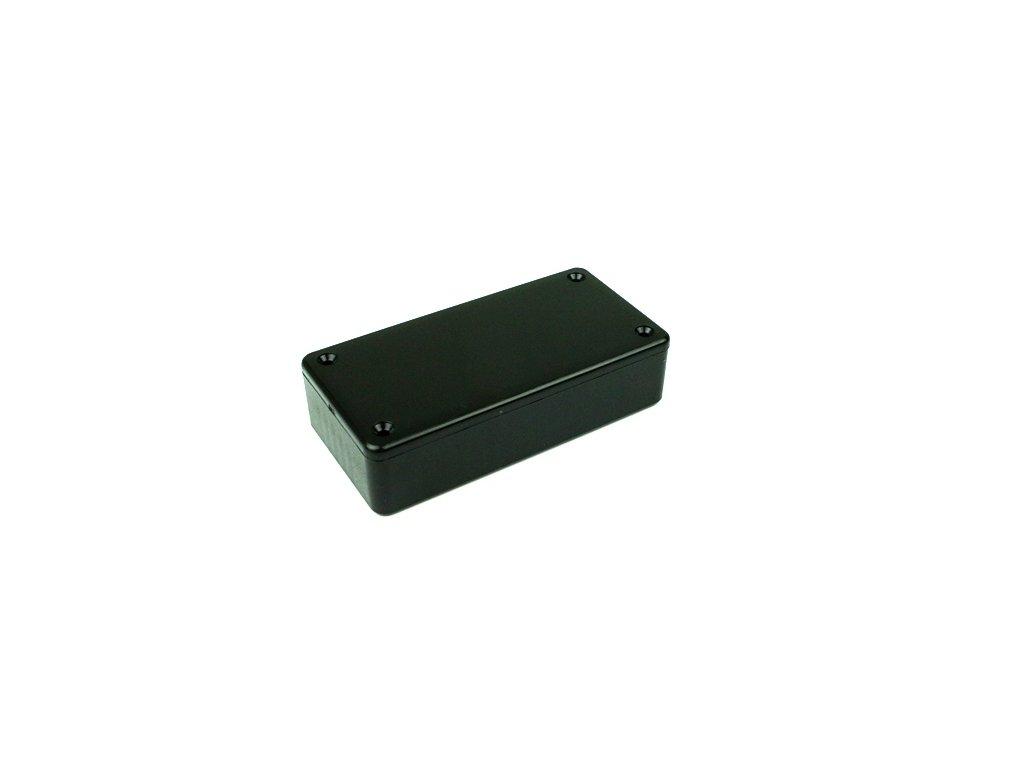 Plastová krabička HM1591ASBK, černá
