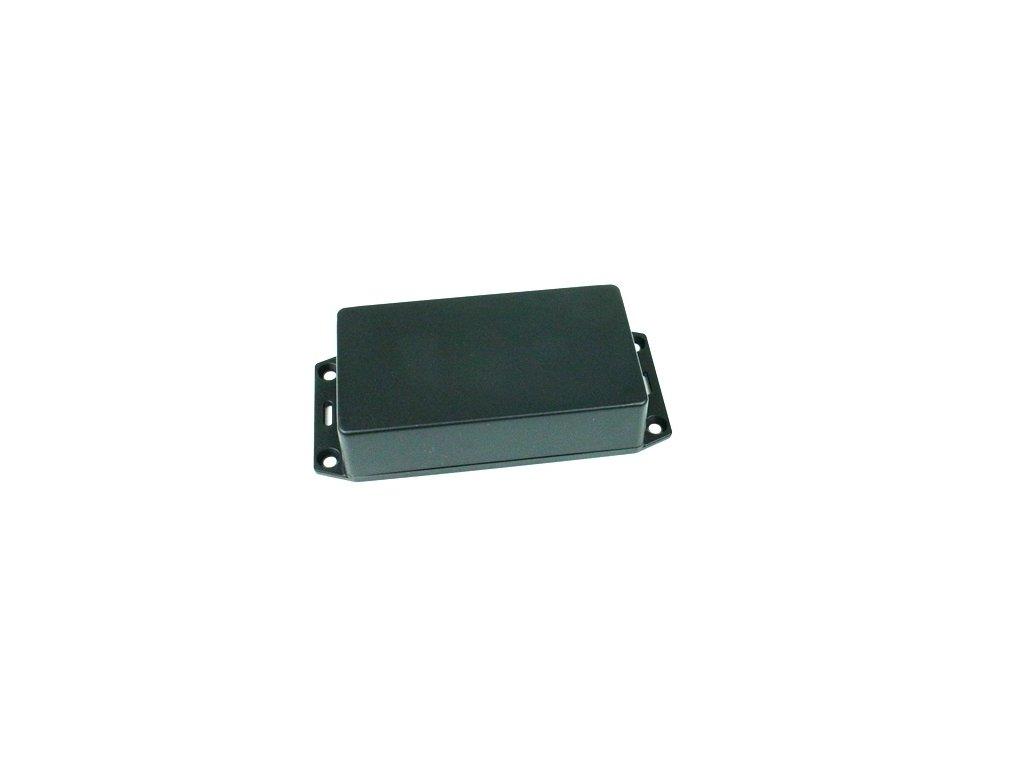 Plastová krabička HM1591XXBSFLBK, černá