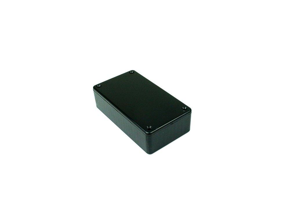Plastová krabička HM1591BBK, černá