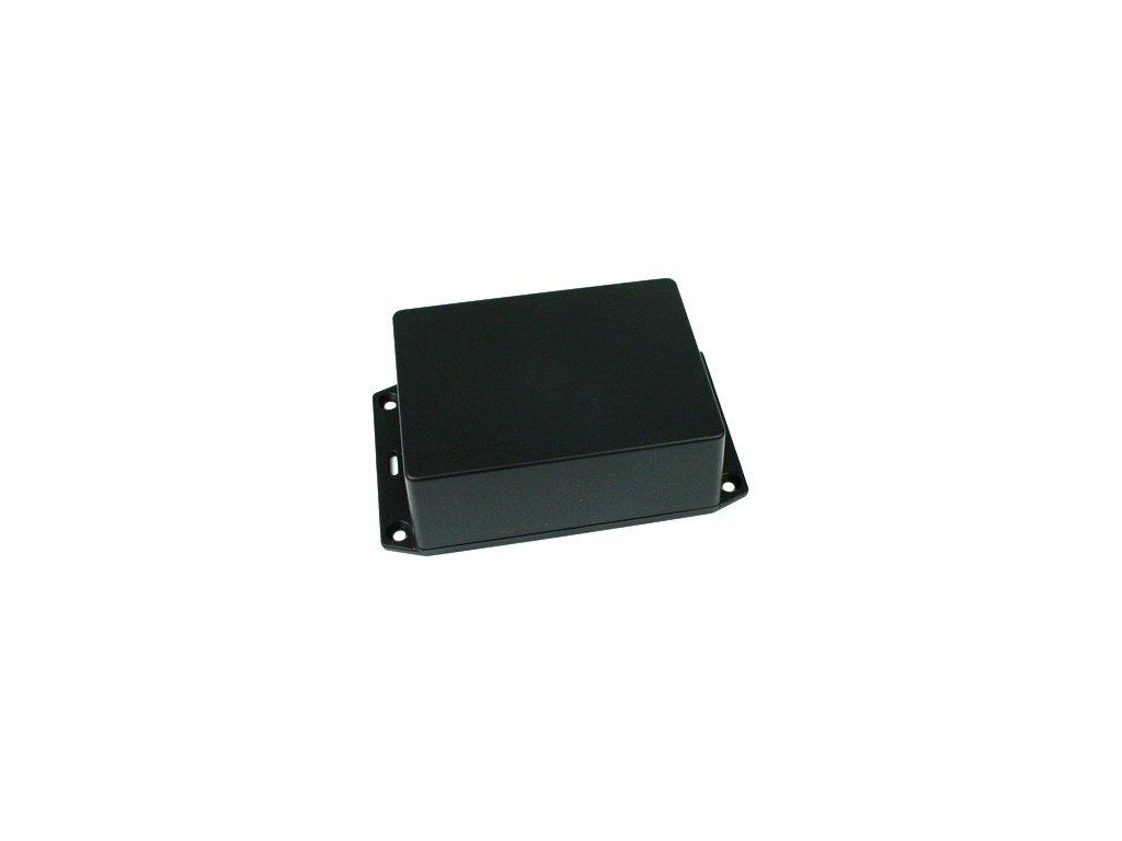 Plastová krabička HM1591XXSSFLBK, černá