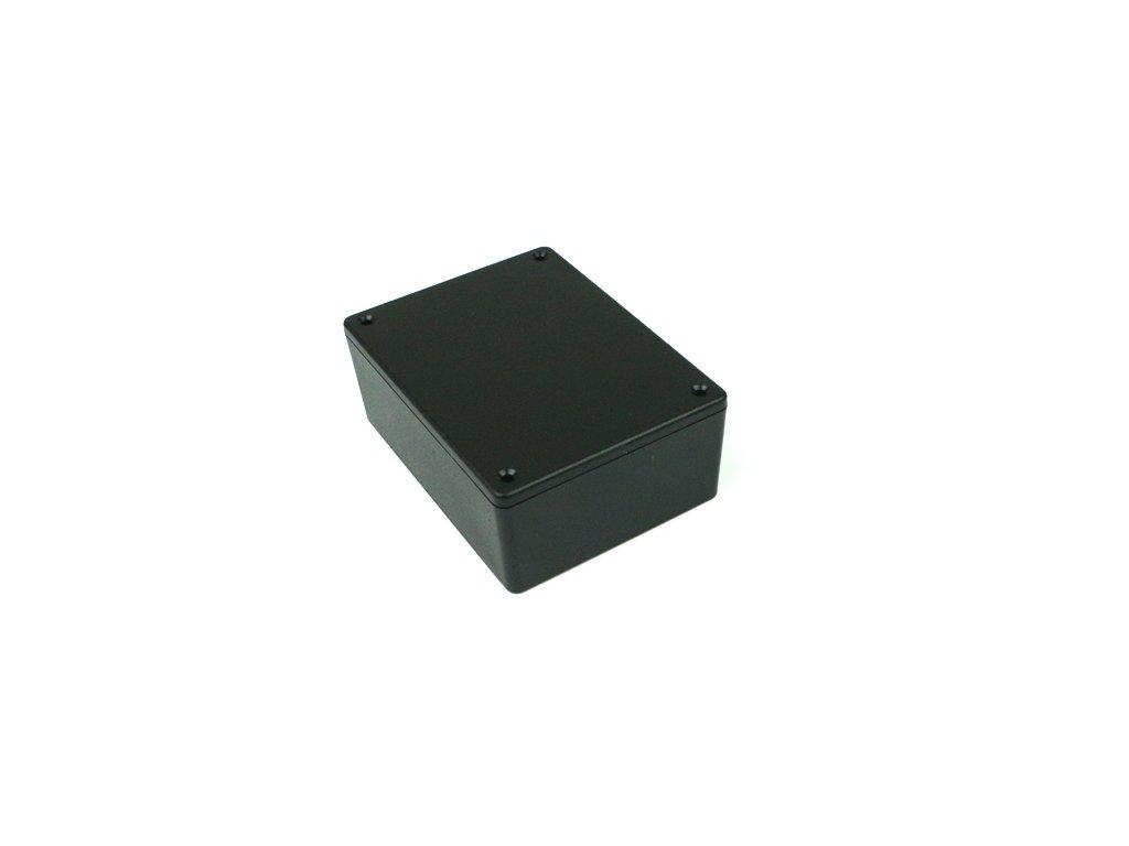 Plastová krabička HM1591XXSSBK, černá