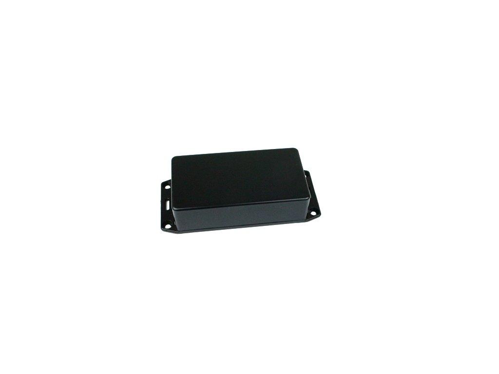 Plastová krabička HM1591BSFLBK, černá