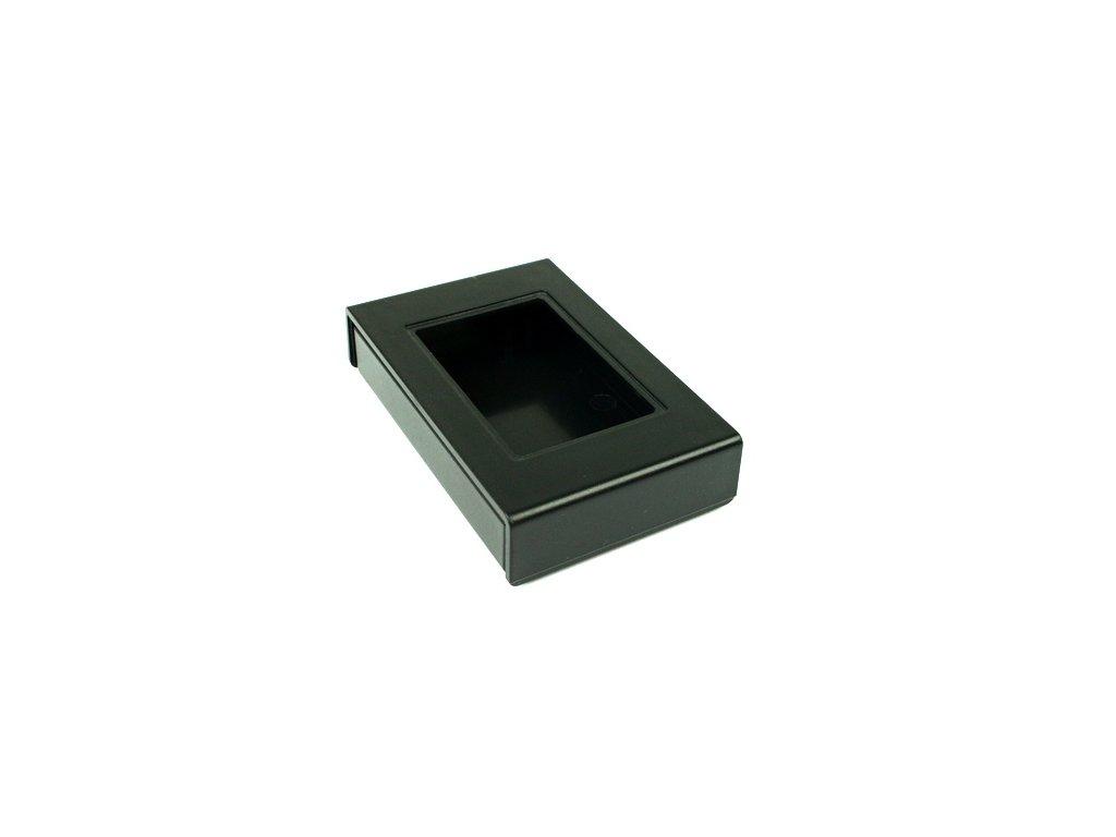 Plastová krabička Z122W, černá