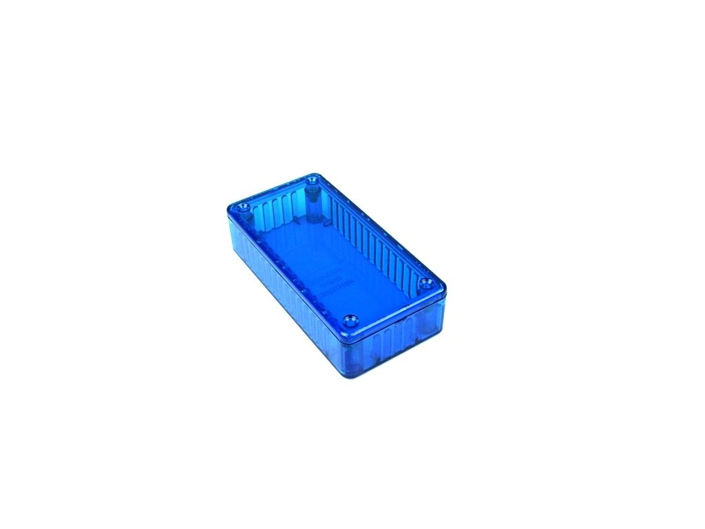 Plastová krabička HM1614B, modrá