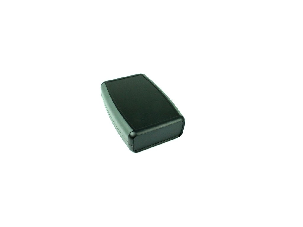 Plastová krabička HM1553CBKBAT, černá