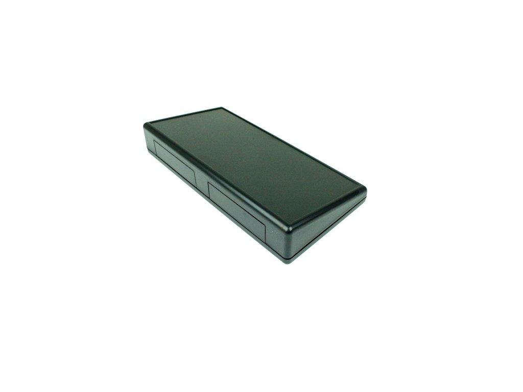 Plastová krabička HM1615, černá