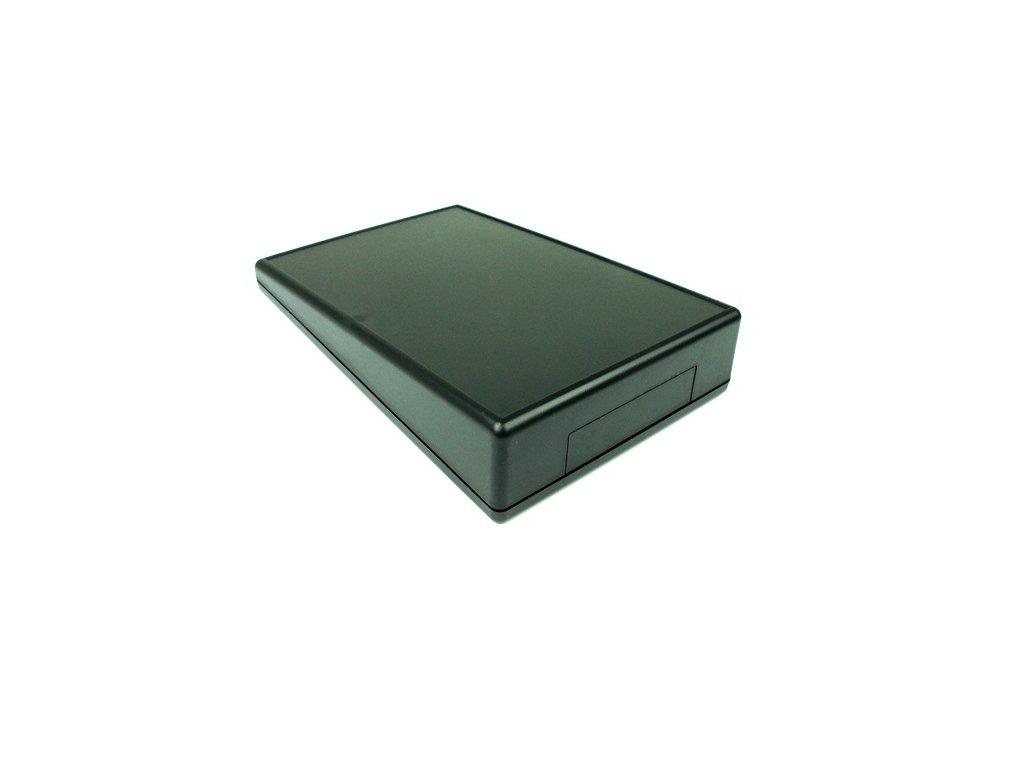 Plastová krabička HM1616BAT, černá