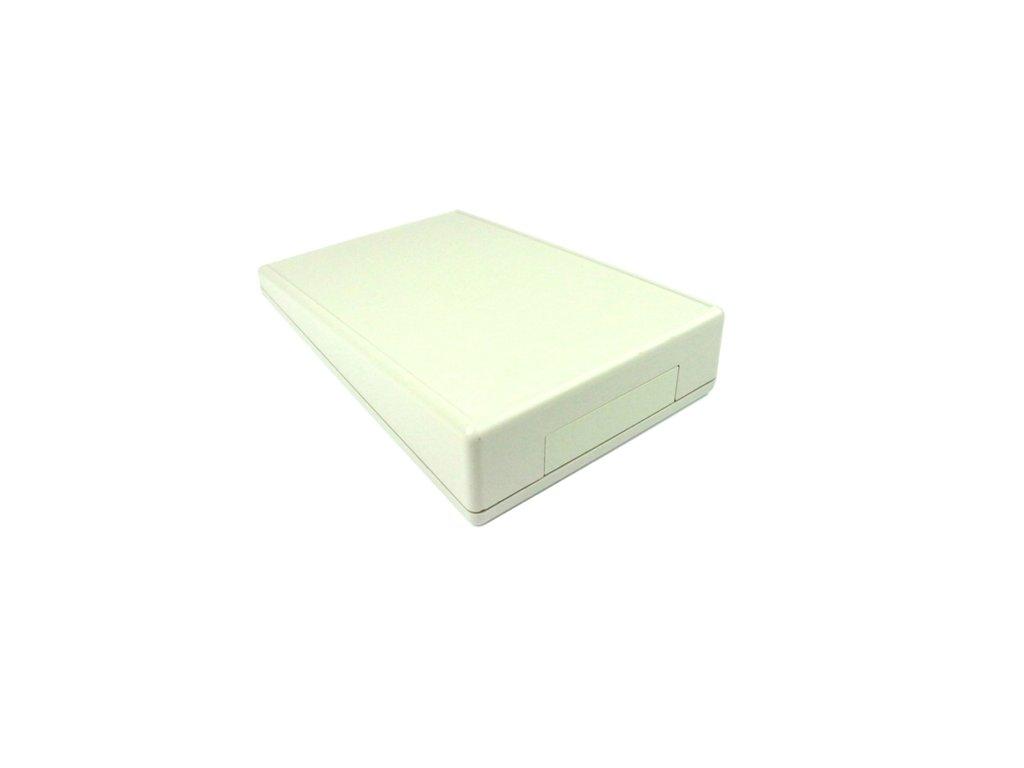 Plastová krabička HM1617BAT, šedá