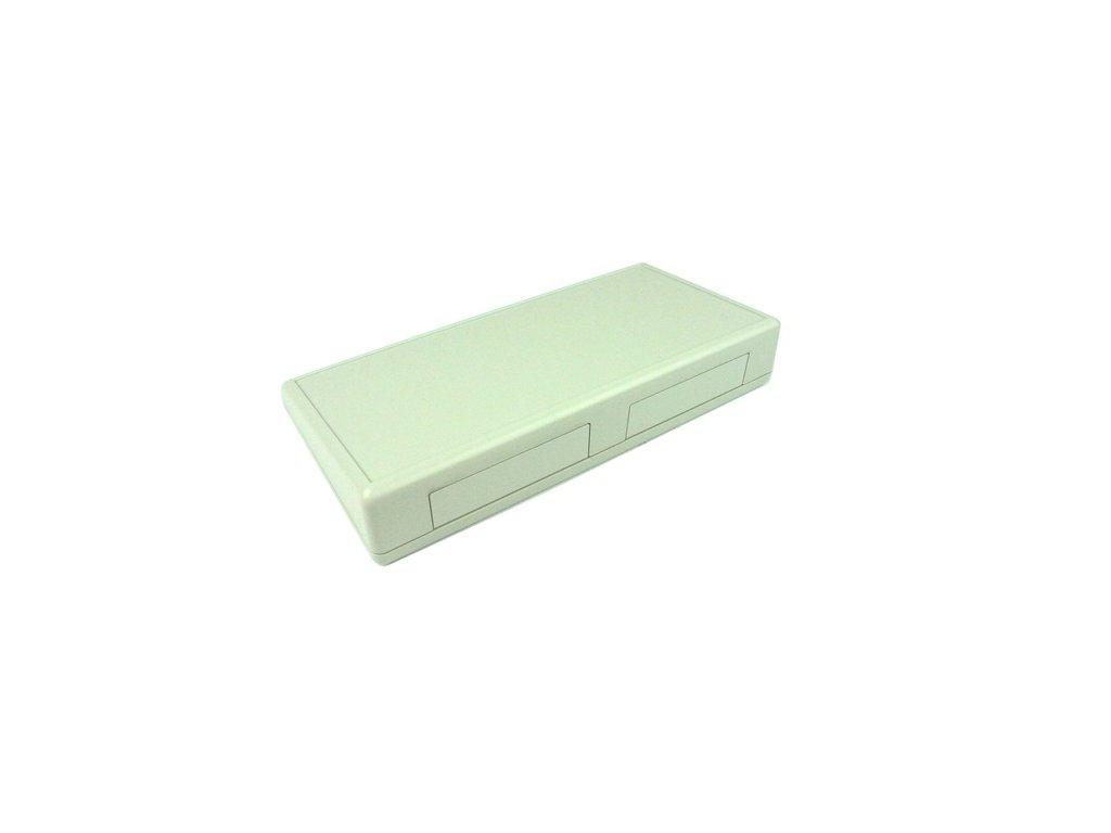 Plastová krabička HM1618, šedá