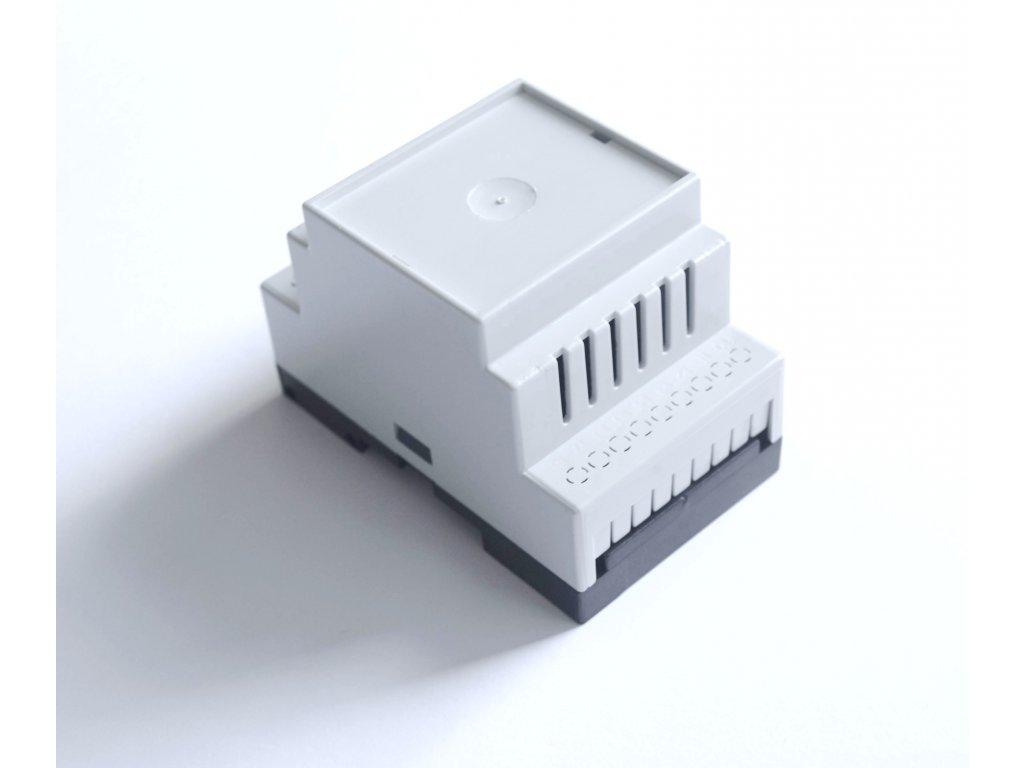 Plastová krabička BKDIN520 KO/V