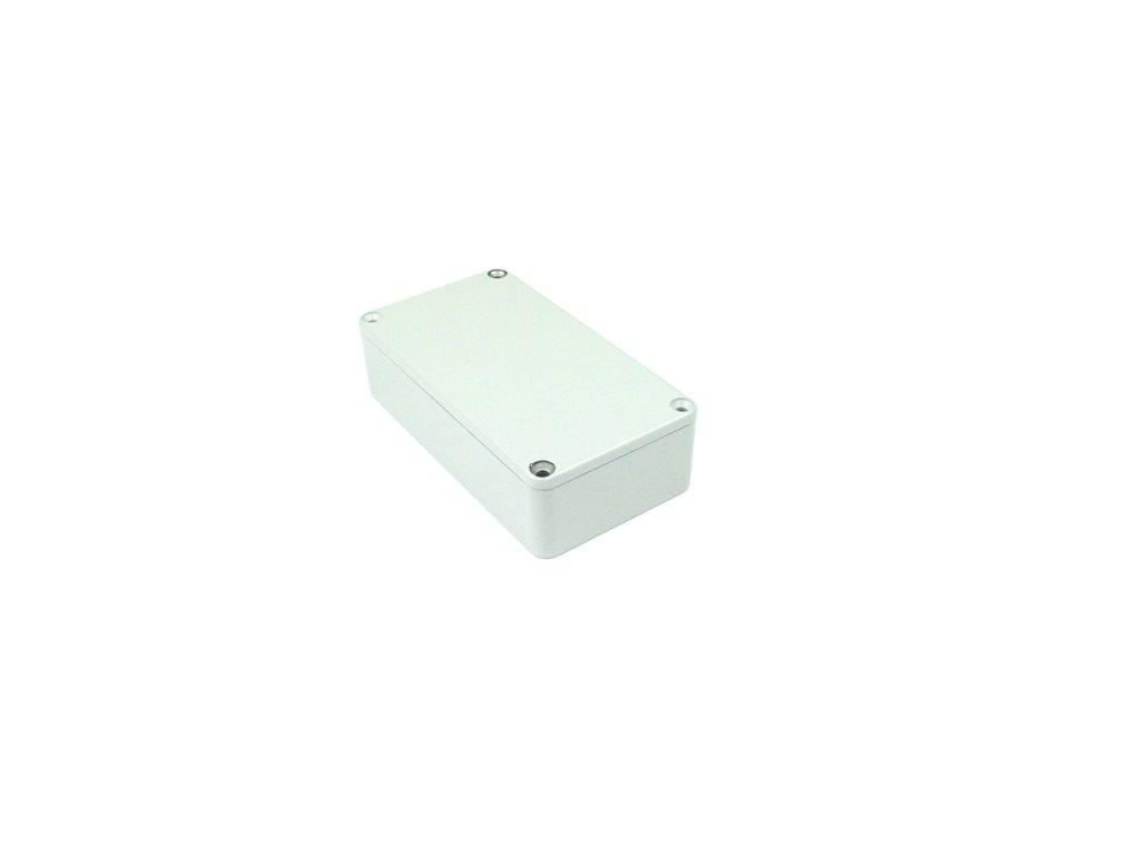Hliníková krabička AL1596G, šedá