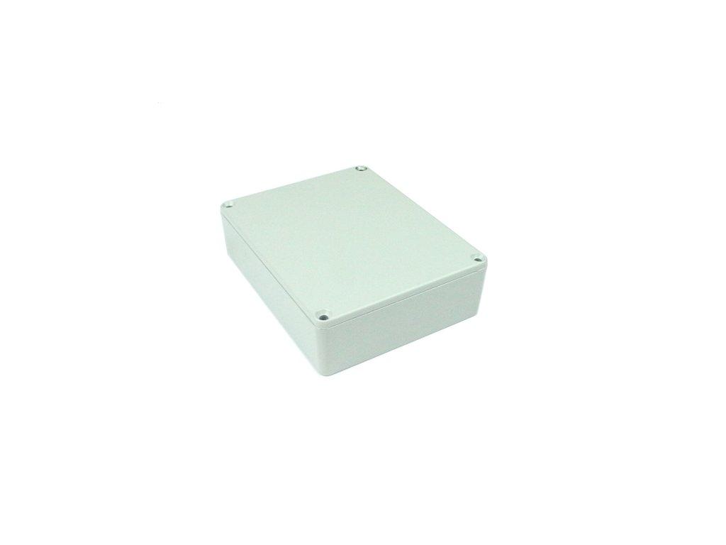 Hliníková krabička AL1597G, šedá