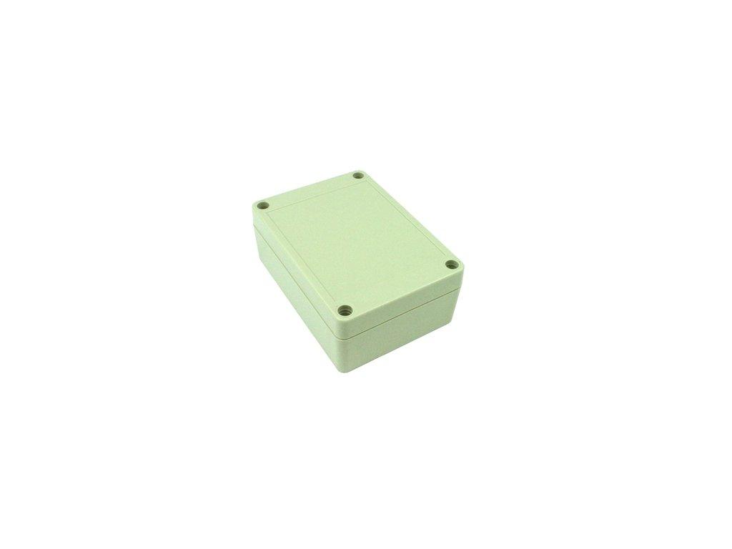 Plastová krabička BK1085, šedá