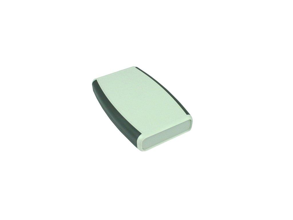 Plastová krabička HM1553DBKBKBAT, šedá