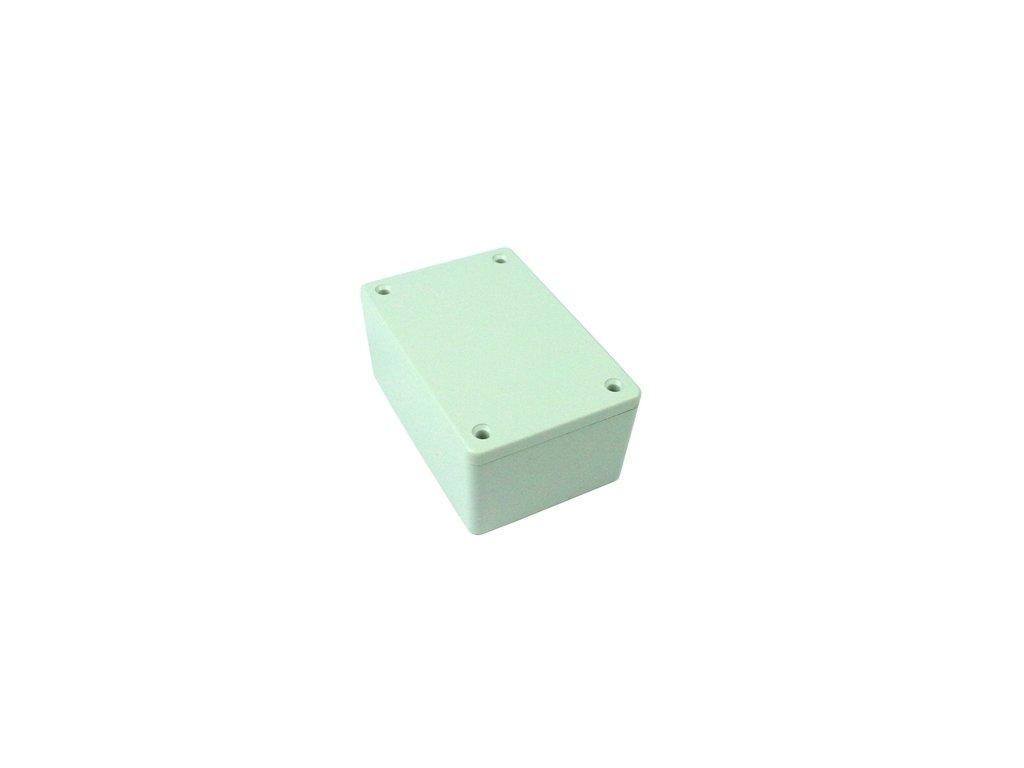 Plastová krabička HM1621, šedá