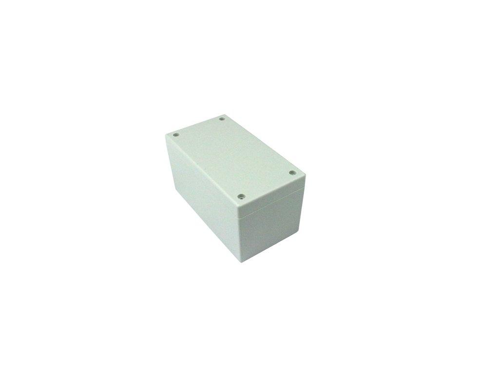 Plastová krabička BK6565, šedá