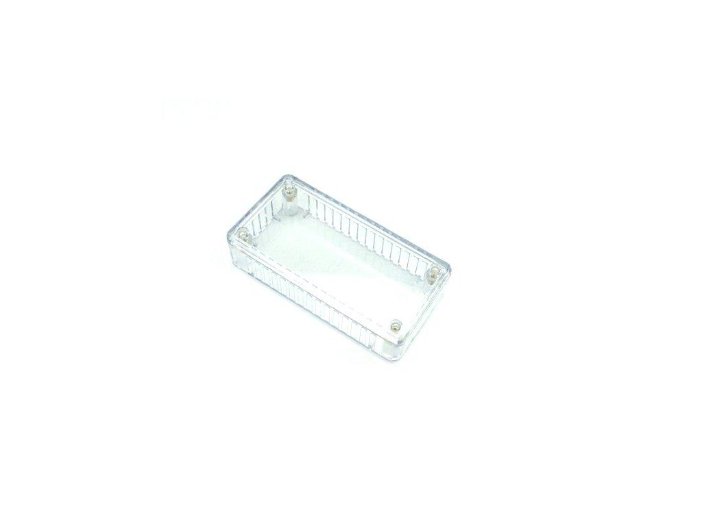 Plastová krabička HM1614C, transparentní
