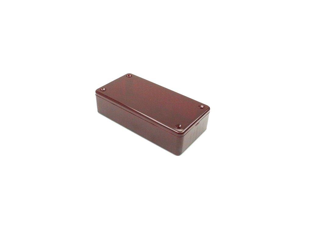 Plastová krabička HM1614R, červená
