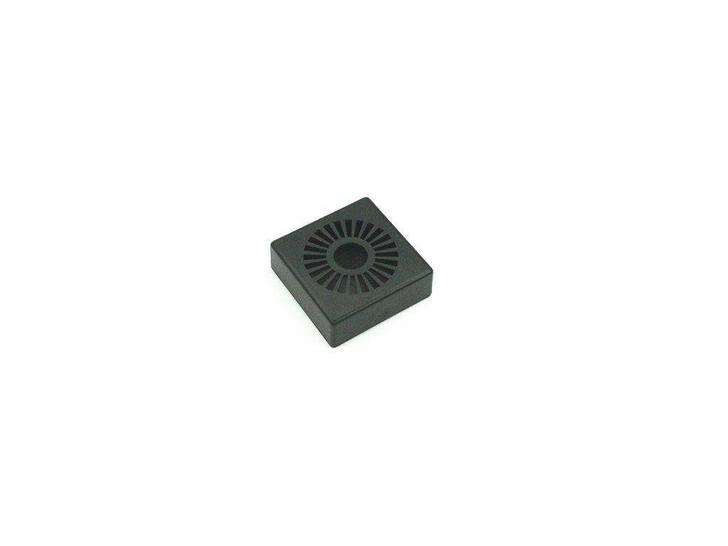Plastová krabička KM99B, černá