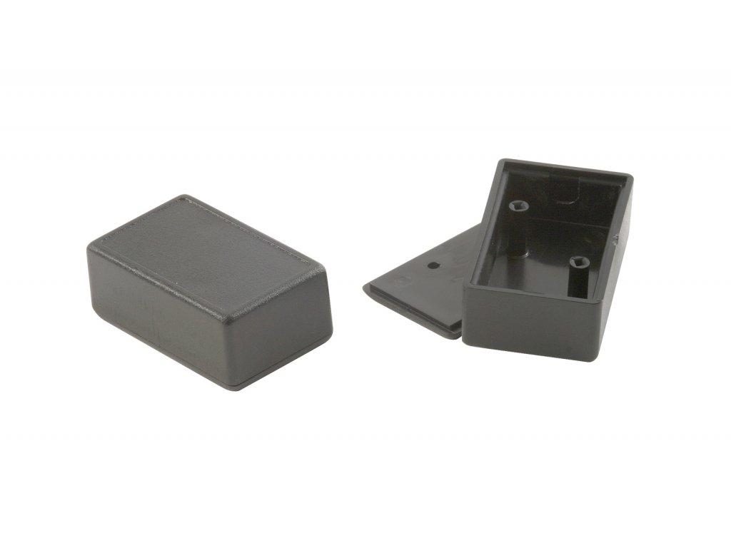 Plastová krabička KM3, černá