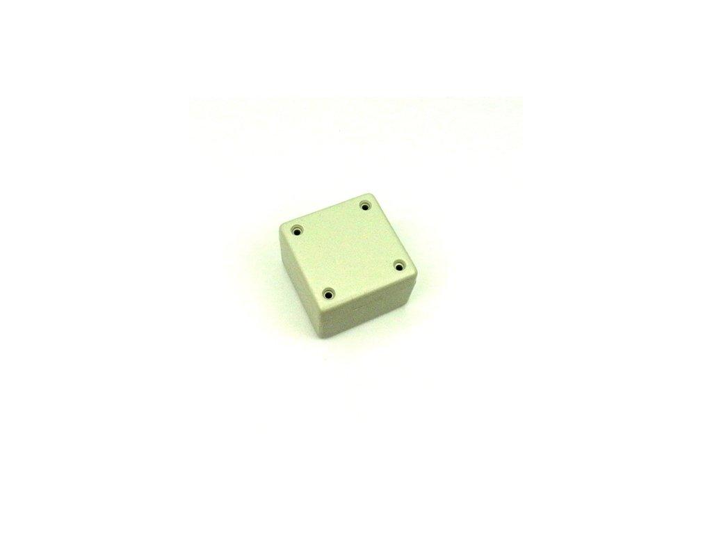 Plastová krabička HM1594, šedá