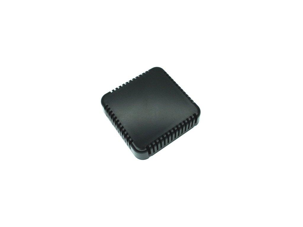 Plastová krabička HM1551V4BK, černá