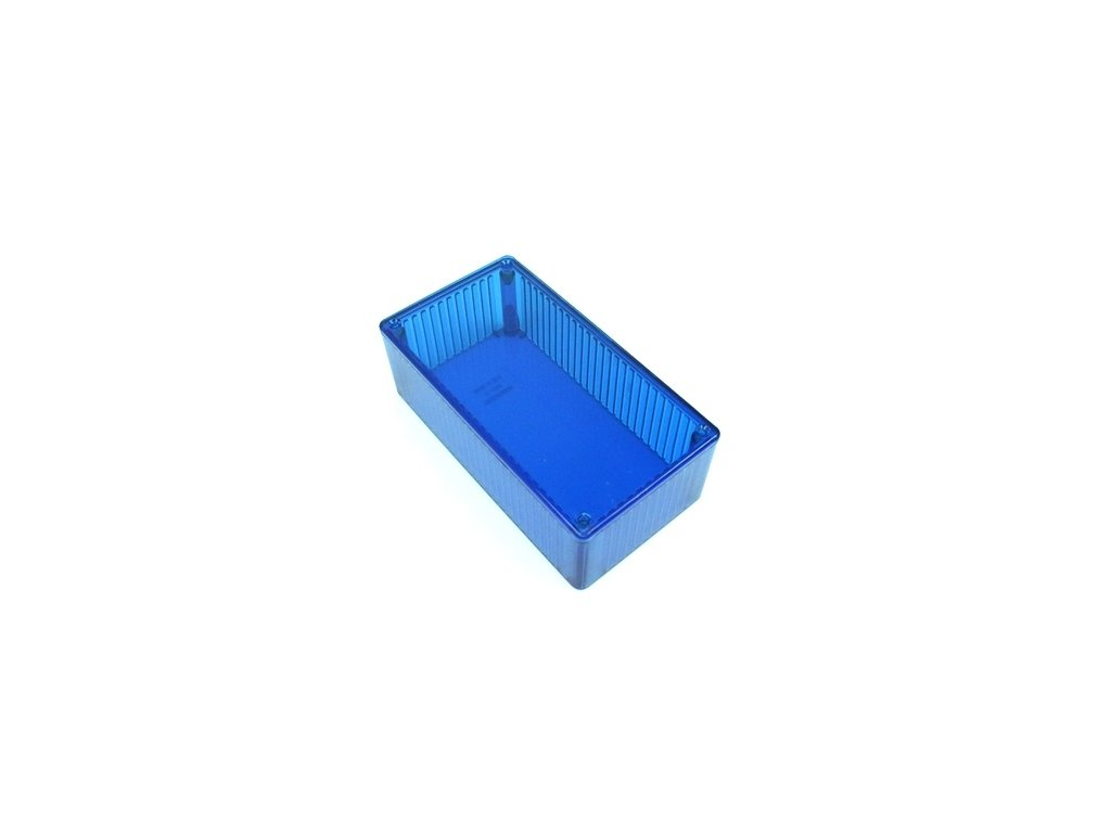 Plastová krabička HM1591DTBU, modrá