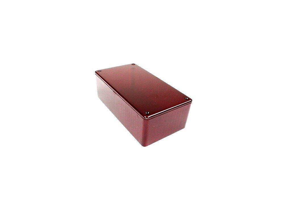 Plastová krabička HM1591DTRD, červená