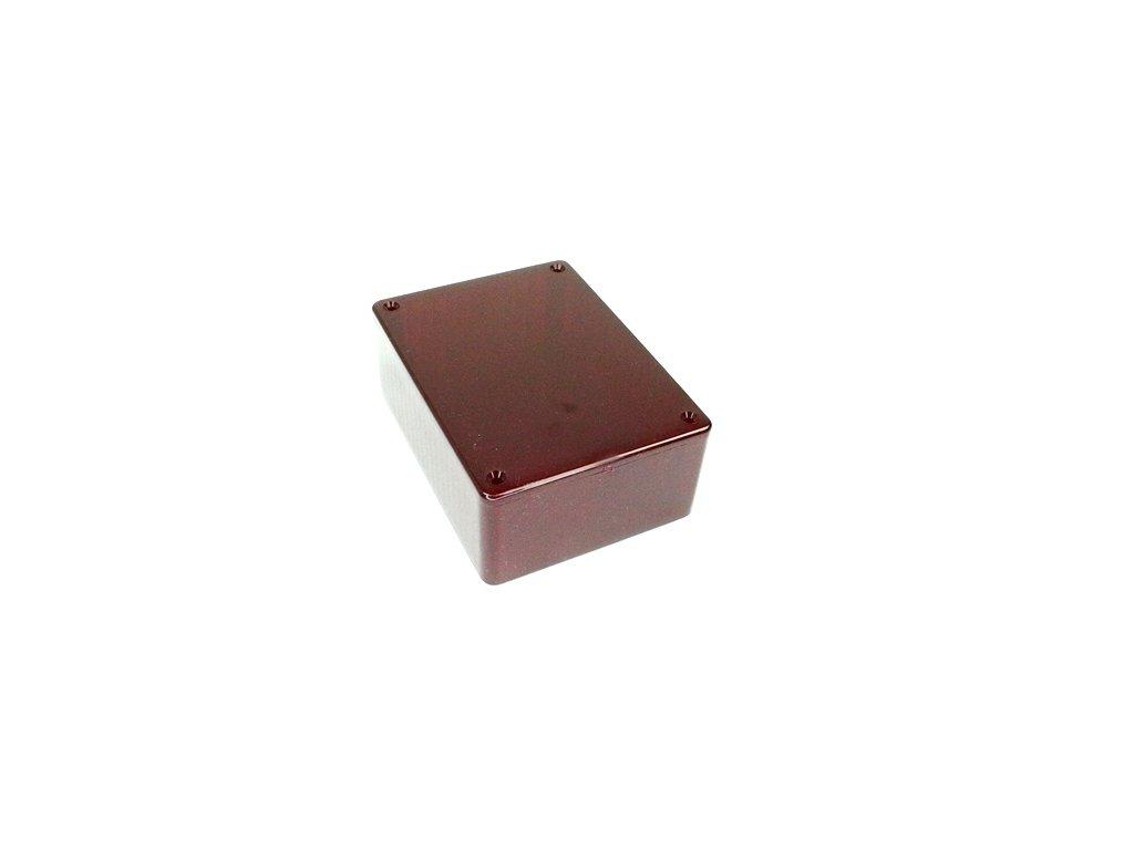 Plastová krabička HM1591STRD, červená