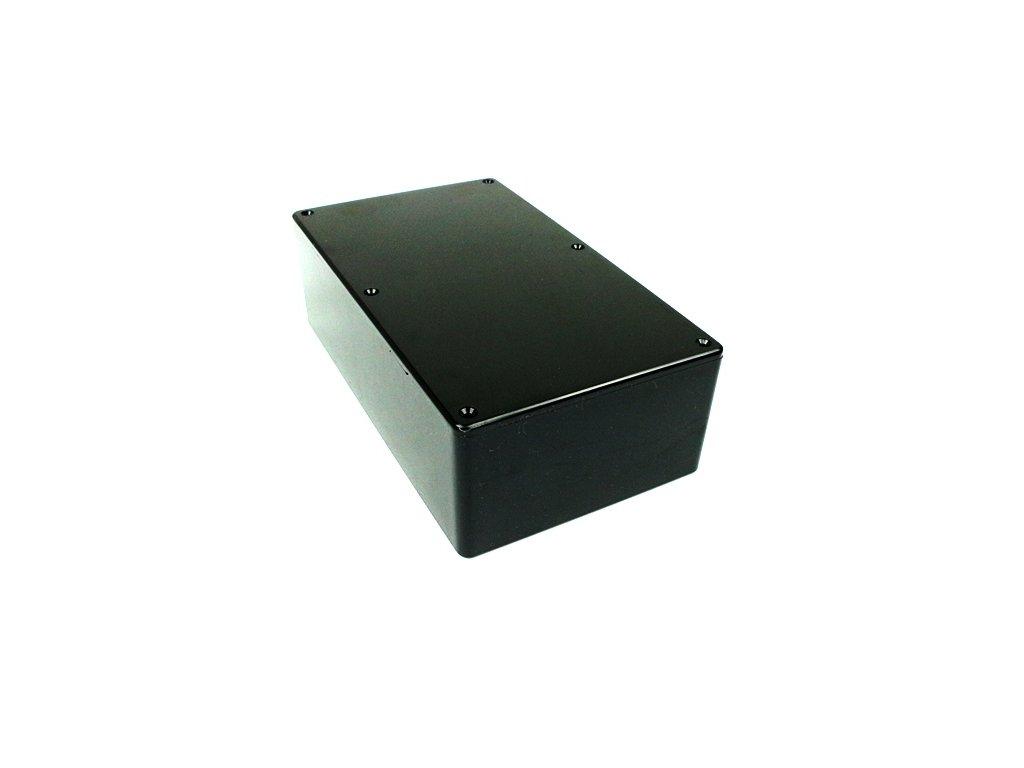 Plastová krabička HM1591ESBK, černá