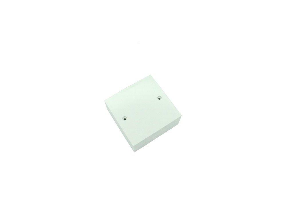 Plastová krabička BK657, bílá
