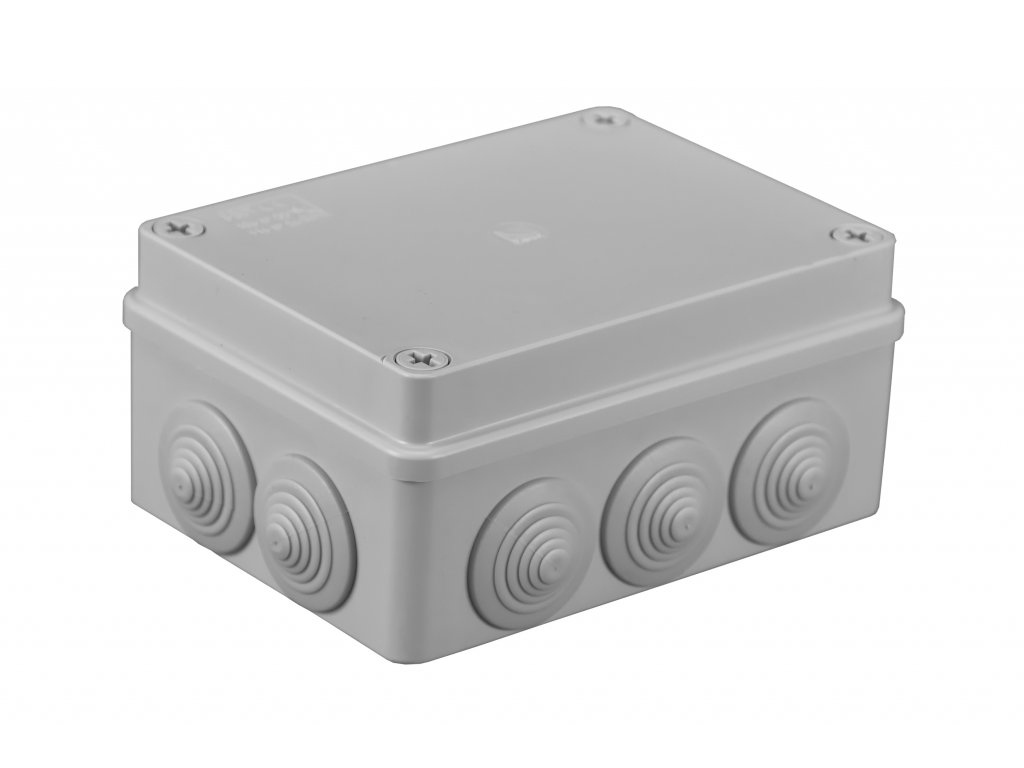 Plastová krabička S-BOX306, šedá