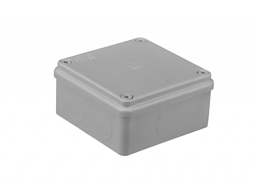 Plastová krabička S-BOX116, šedá