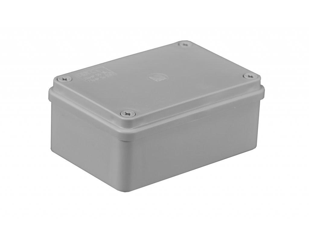 Plastová krabička S-BOX216, šedá