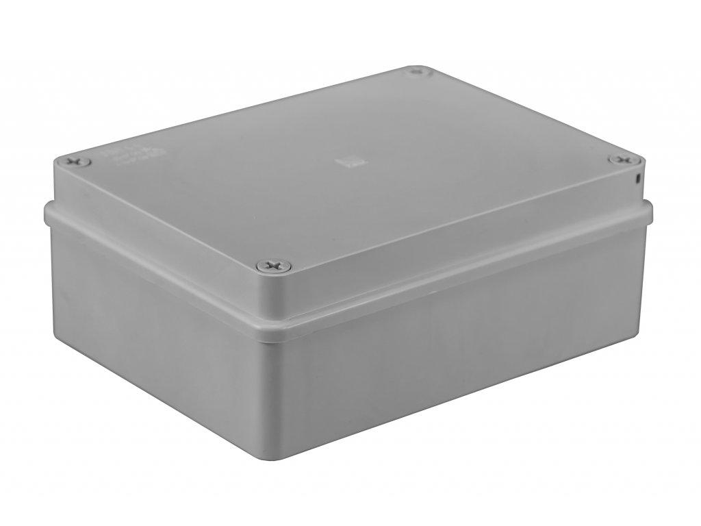 Plastová krabička S-BOX416, šedá