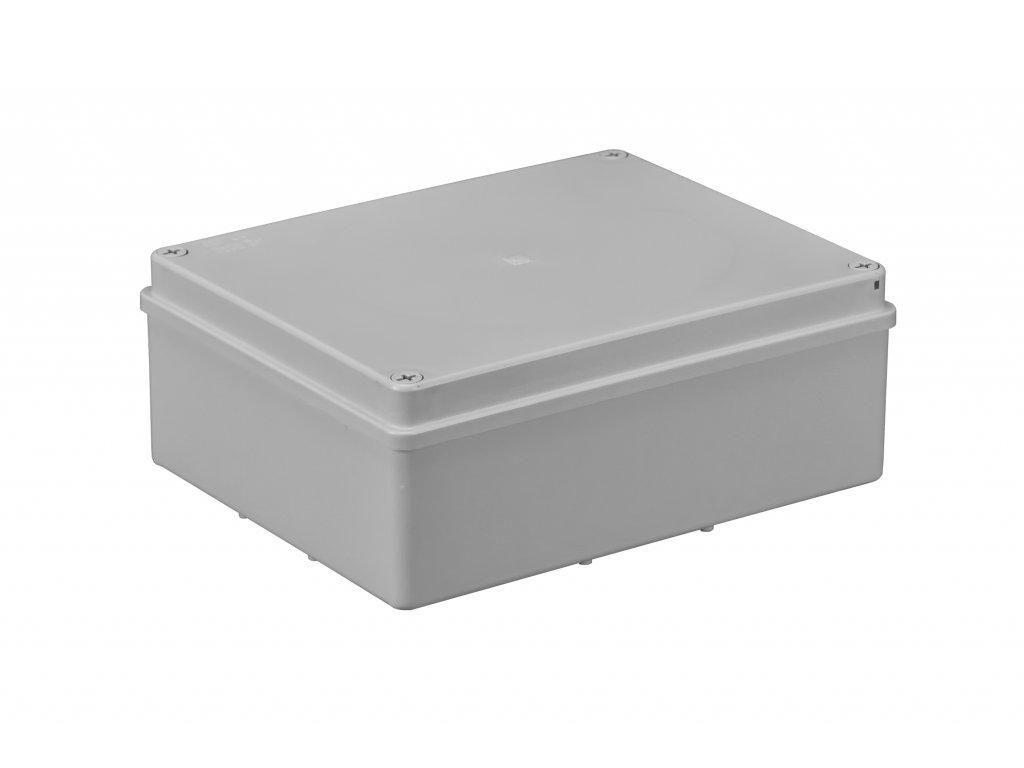 Plastová krabička S-BOX516, šedá