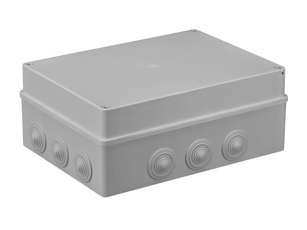 Plastová krabička S-BOX606, šedá
